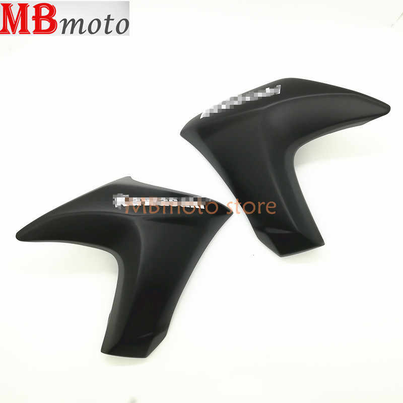 Left or right radiator cover is suitable for kawasaki ER6N 2012 2013 2014 2015 ABS fairing shell motorcycle compression without