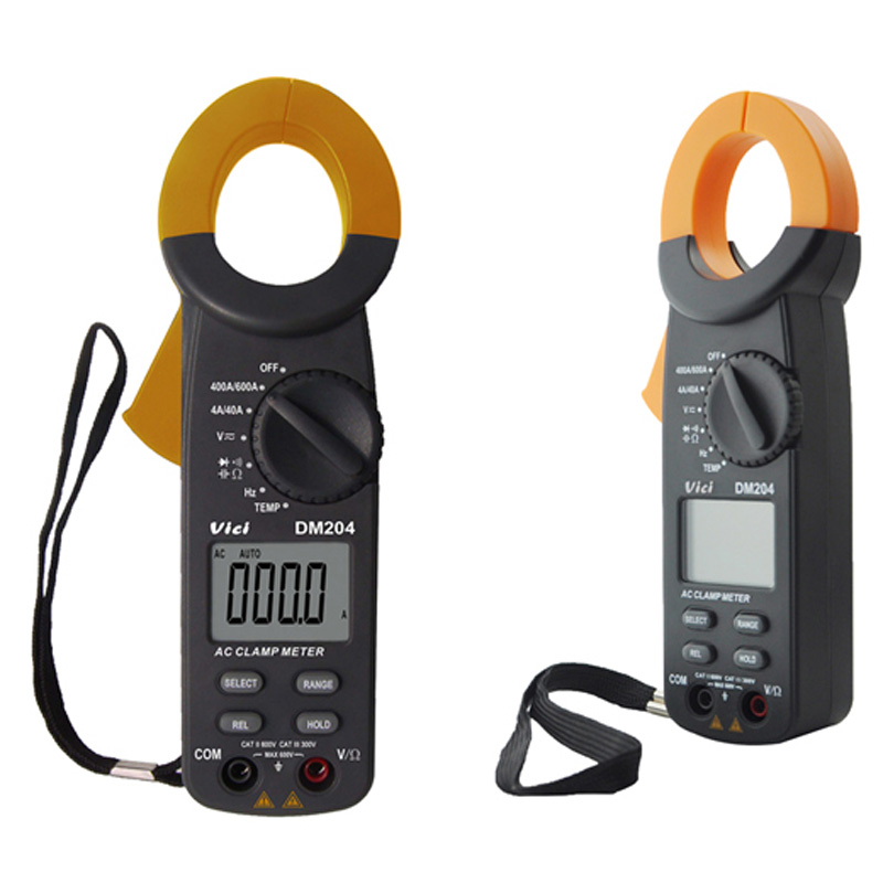 VICI DM204 3 3/4 Digital Clamp Meter Ammeter Clamp Open 35mm Auto Range Voltmeter frequency/capacitance Multimeter DMM f47n multimeter pointer mechanical capacitance meter ammeter voltmeter pocket