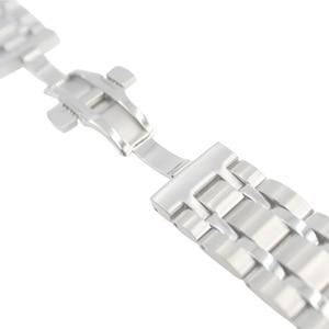 Image 3 - 22/23/24mm T035407A T035617A חדש שעון חלקי זכר מוצק נירוסטה צמיד רצועת Watchbands עבור T035614A /T035627