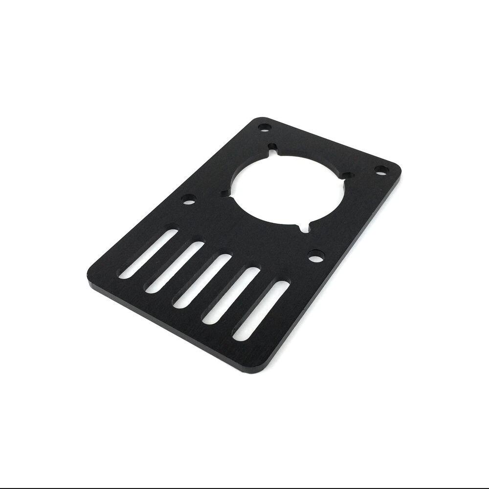 Openbuilds DIY aluminum alloy NEMA23 Motor Mounting Plate - V Slot Aluminium Extrusion 3D Printer RepRap CNC 1pcs openbuilds motor mount plate for nema 17 82 39 5 3mm aluminum alloy cnc special fixing plate for 3d printer
