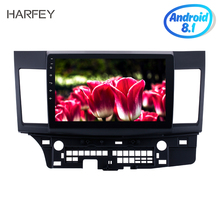 Harfey 10 1 GPS Navi Stereo for 2008 2015 Mitsubishi Lancer ex HD Touchscreen Android 8