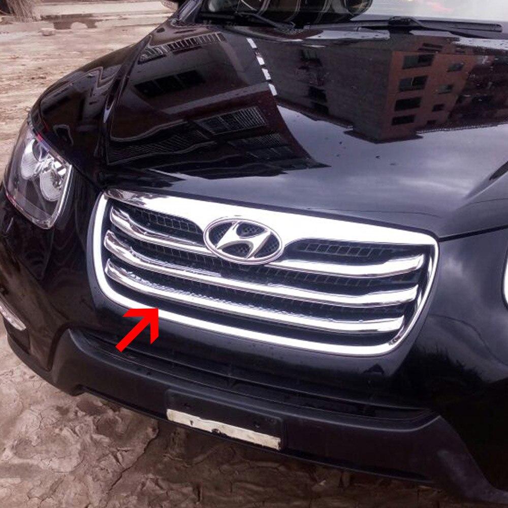 Chrome Window Sill C Pillar Molding Trim Cover 4p For 07 10 Hyundai Elantra HD