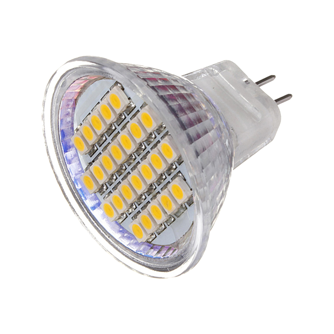 MR11 LED Light 24SMD Bulb Lamp AC&DC 12V Type:MR11 24Smd 3528 Light Color:Pure White Pack of:5X