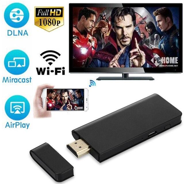 אלחוטי WiFi תצוגת Dongle HDTV וידאו מתאם מקל עבור IPhone X 6 עבור Huawei עבור LG עבור Xiaomi אנדרואיד טלפון כדי טלוויזיה מקרן