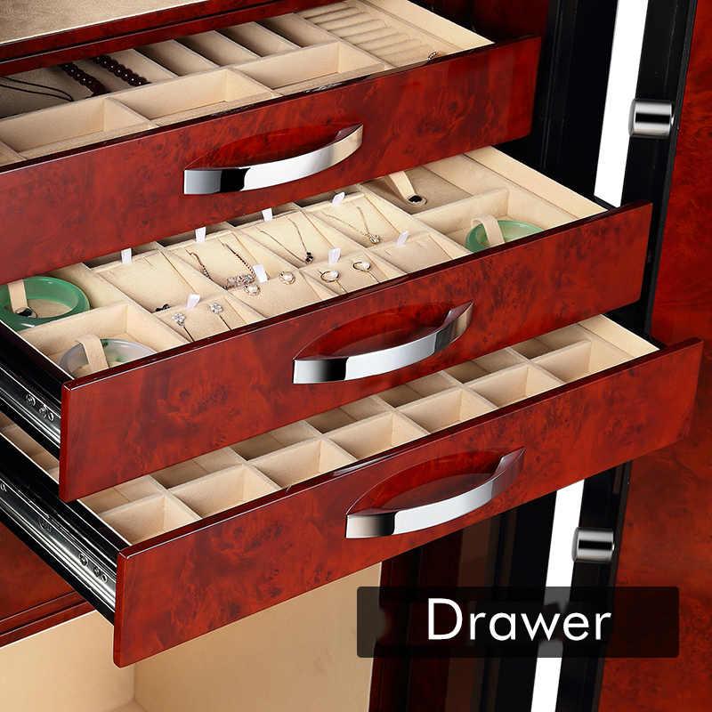 Caja de almacenamiento de joyería de lujo de alta calidad para reloj automático caja de seguridad
