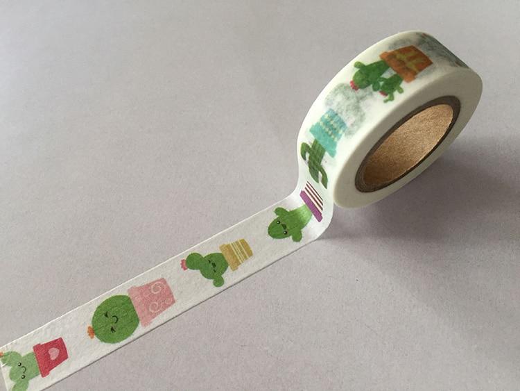 jiataihe Washi Tape Decorative Scotch Tape Scrapbook Paper Masking Adhesive Tape  washi tape cactus free shipping kitmmmc32helmetsfunv72220 value kit scotch nfl helmet tape dispenser mmmc32helmetsf and universal smooth paper clips unv72220