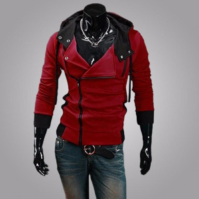 New Fashion Casual Men Hoodies Sweatshirt Male Tracksuit Hooded Jacket Casual Sports Male Hooded Jackets Moleton Assassins Creed4