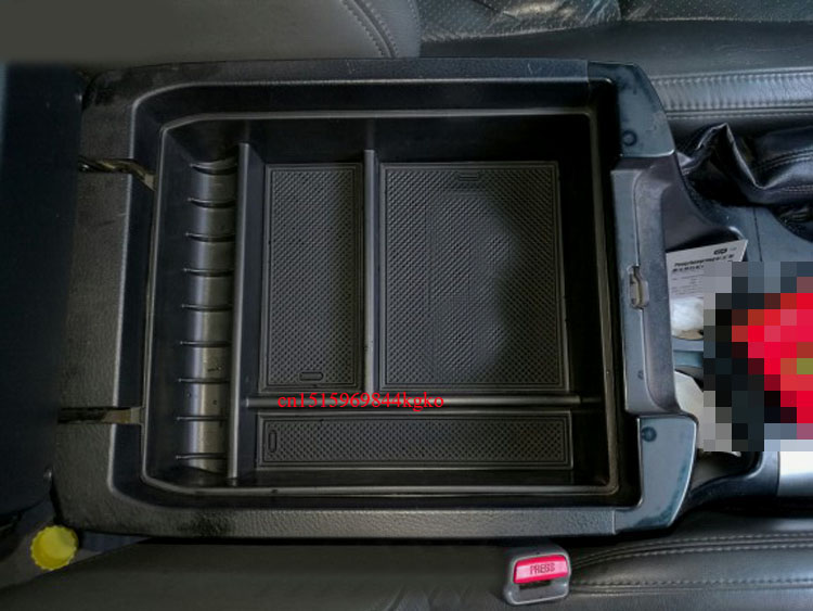 Non-Slip Central Armrest Container Stowing Box Without Refrigerator For toyota Land Cruiser Prado FJ 120 2003-2009 подкрылок novline autofamily для toyota land cruiser prado 01 2003 2009 задний левый