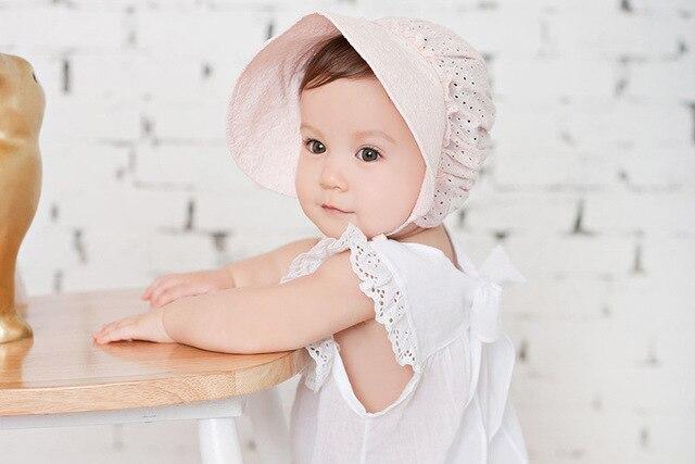 36 pçs lote gorro infantil criança gorro retro meninas do batismo do  bebê baptismo ba976e18daa