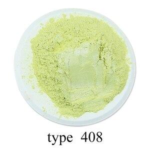 Тип 408 пигмент жемчужный порошок здоровая Натуральная Минеральная пудра Мика порошок Сделай Сам краситель, использовать для мыла автомобил...