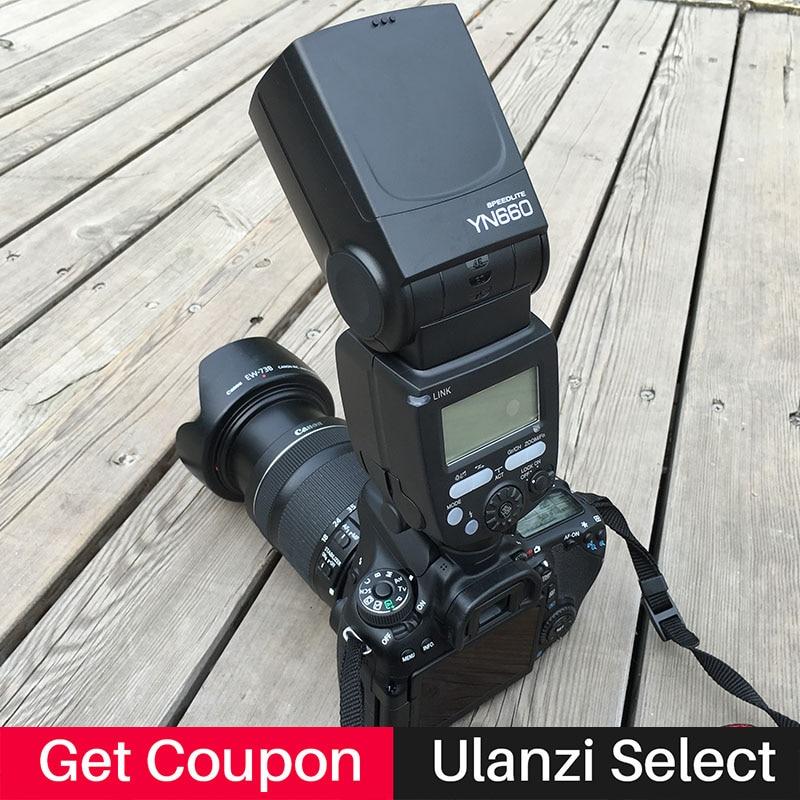 YONGNUO YN660 YN 660 camera Flash Speedlite GN66 2.4G Wireless Radio Master Slave Transceiver Integrated for Canon Nikon стоимость