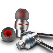 Fones de ouvido de Metal Fone de ouvido Fone de Ouvido Com Microfone para xiaomi huawei iphone fone de ouvido fone de ouvido de jogos audifonos dj mp3 player