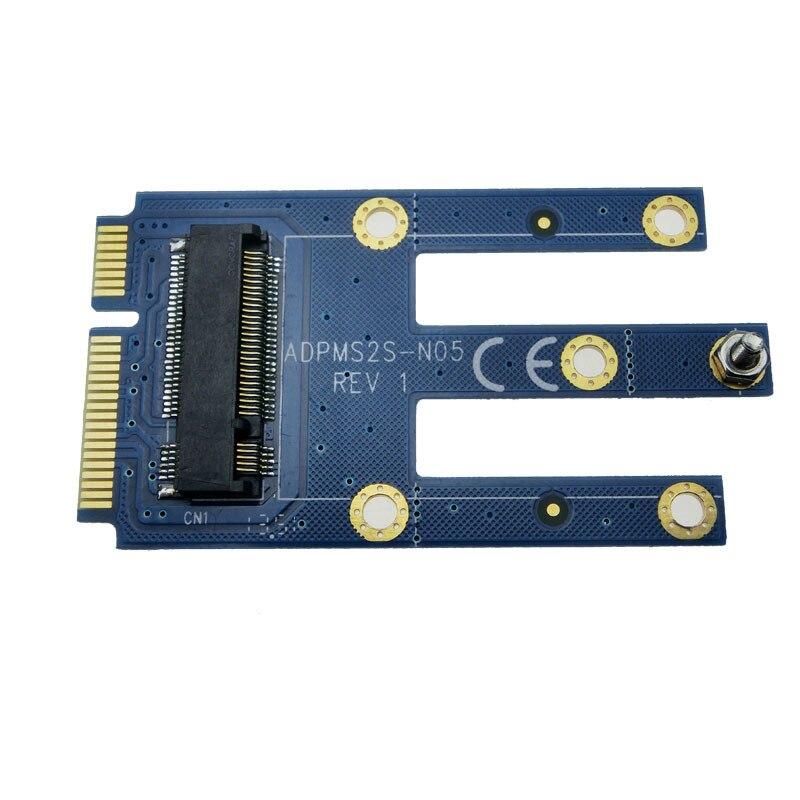 Mini PCIe para adaptador Mini PCI – e conversor para m2 NGFF Wifi Bluetooth gsm, Hspa ( 3.5 G ), Gps, Lte, Wwan, 3 G cartões