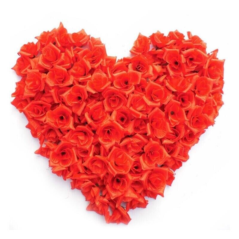 Бесплатная доставка высокого класса оптовая Двадцать моделирование роуз глава Роза свеча лепестки Роз моделирования пакет Треугольник лепестки роз