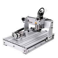 USB 4 Axis 6040 CNC Router Engraving Machine 800W Milling