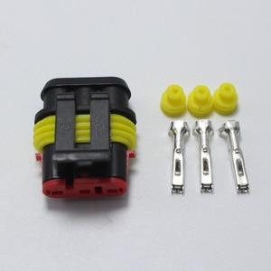 Image 5 - 60 ensembles DJ7031 1.5 connecteur de fil électrique étanche 3 P mâle et femelle connexion Automobile pour voiture ect