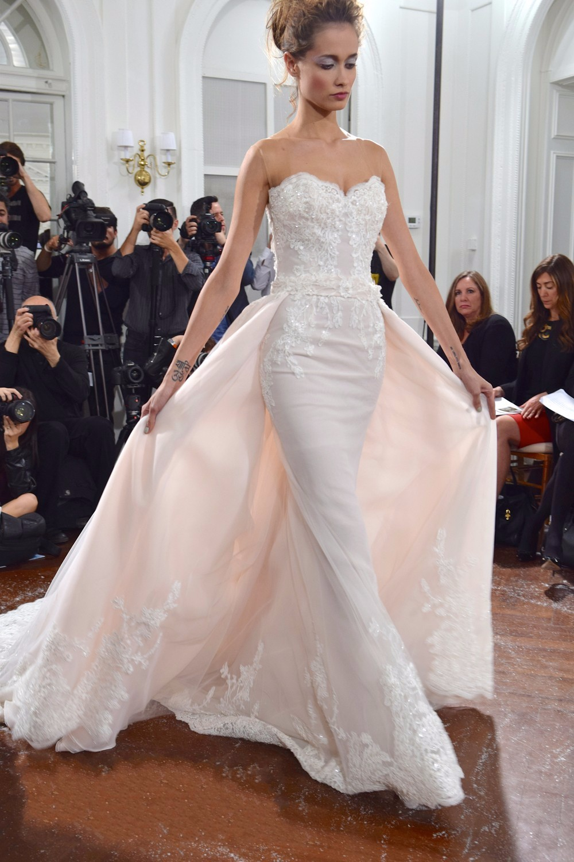 Popular Light Pink Beaded Mermaid Wedding Dress-Buy Cheap Light ...
