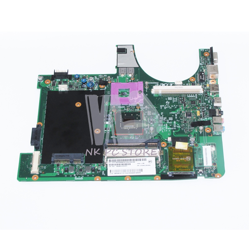 MB.APQ0B.001 MBAPQ0B001 For Acer aspire 6920 6920G Notebook PC Motherboard 965GM DDR2 with Graphics slot Free CPU