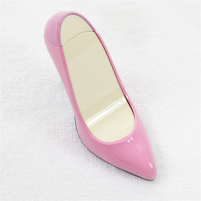 Image 5 - Creative Compact Jet Butane Lighter Inflated Gas High heels Lighter Bar Cigarette Accessories NO GAS-in Matches from Home & Garden