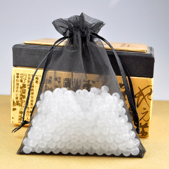 Hot Sale Retail 100pcs 13x18cm Black Organza Gift Bags Drawable Christmas Wedding Party Jewelry Pouch Free Shipping