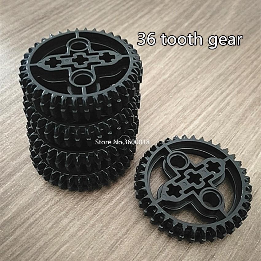 8pcs/lot  Decool Technic Gear 36 Tooth Compatible With Legos 32498 X403 MOC DIY Blocks Bricks Parts Set
