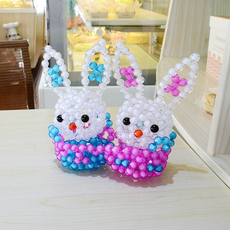 Handmade diy valentines day gifts for girlfriend romantic couple handmade diy valentines day gifts for girlfriend romantic couple rabbits acrylic plastic crafts decoration for partychristmas on aliexpress alibaba negle Images