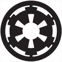 Star Wars Imperial logo Vinyl sticker