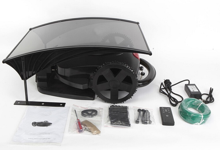 Hot Sale Robot Lawn Mower Black Grass Cut Machine With Good Quality Only Free Shipping To Israel