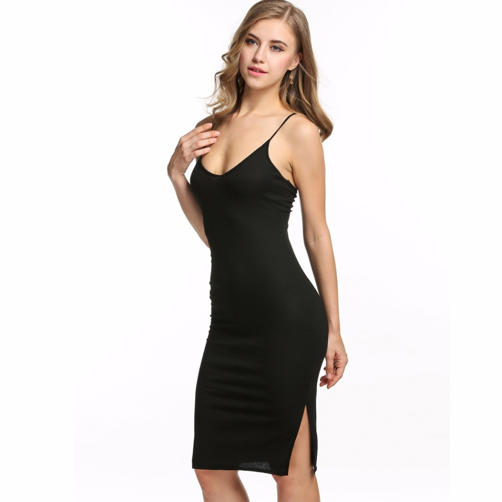 Black Female Fashion: Fashion Elegant Sexy Bandage Women Dress Bodycon Sundress