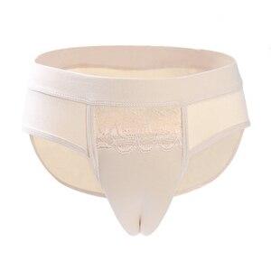 Image 5 - Men Underwear Fake Vagina for Crossdresser Transgender Panty Crossdresser Underwear