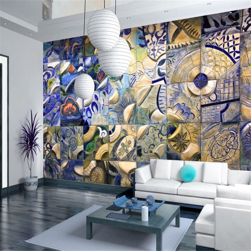 beibehang Large abstract papel de parede 3d mural wallpaper sofa living room TV background wall papers home decor papel pintado motorcycle front brake disc rotors for moto guzzi breva 1100 1200 750 850