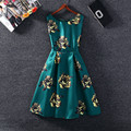 2017 New summer casual woman dress vestidos vestido de festa vintage woman ladies dresses feminino womens clothing
