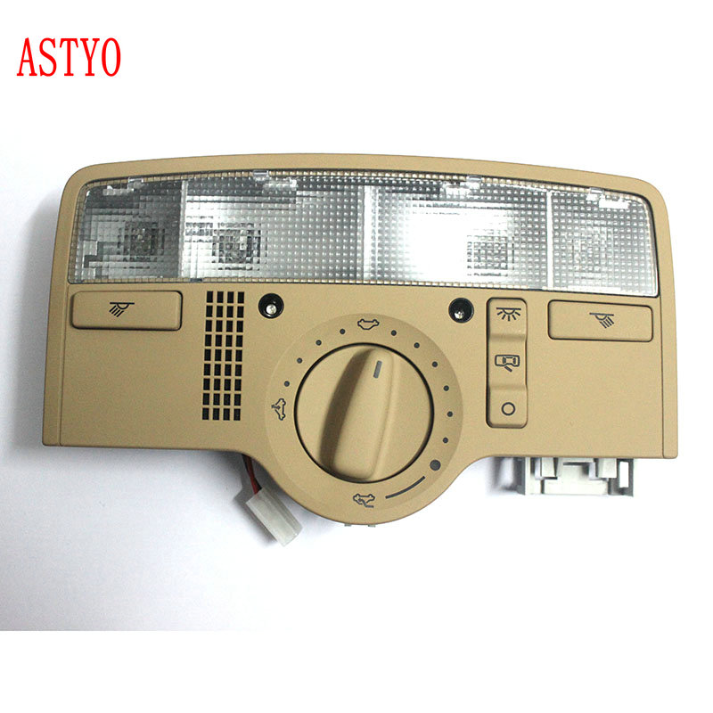 ASTYO Car With skylights Dome Light Reading Lamp For VW Passat b5 2009 2011 Octavia Superb