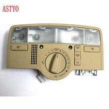 ASTYO 자동차 스카이 라이트 돔 라이트 독서 램프 VW Passat b5 2009 2011 Octavia Superb 3B7 947 106 용