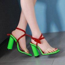 Compra green high heel sandals y disfruta del envío gratuito