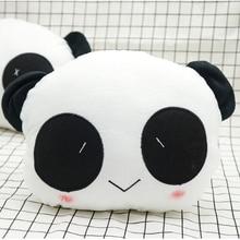 21 5 17 5 9cm AUTO car styling Cute Cartoon Panda Plush Auto Waist Cushion Car