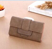 Wholesale 2019 New Women Wallet Clutch Purses Female Fold Long Design Money Bag Card Holder High Quality Coin Pocket Bolsas стоимость