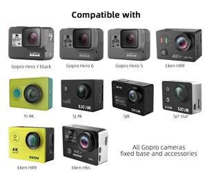 Image 4 - ل Gopro اكسسوارات جمع كيس حقيبة صغيرة الحجم صندوق تخزين ل Gopro Hero8/7/6/5/4 SJCAM SJ4000 XIOMI يي 4K عمل الكاميرا