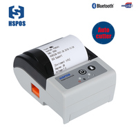 Mini 58mm Mobile Thermal Receipt Printer With Auto Cutter Battery Provide SDK For App Development Portable