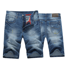 HCXY 2016 летние новые мужские джинсовые шорты прохладный джинсовые шорты пятый прямые тонкий срез шорты мужчины