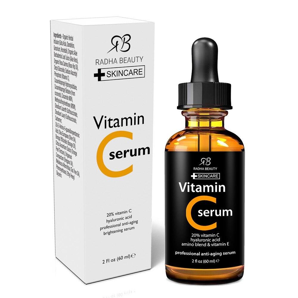 Us 28 0 20 Off Original Rb Radha Beauty Vitamin C Serum 60ml In Serum From Beauty Health On Aliexpress