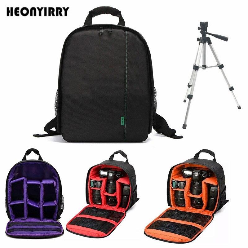 Digitale impermeabile DSLR Camera Bag Video Multi-funzionale Piccolo DSLR Nikon Canon Fotocamera Zaino per il Fotografo Foto Borsa