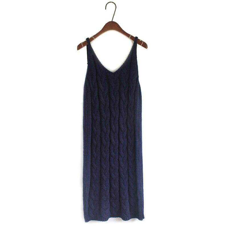 ef475a18cb5 Rib Knit Sweater Suit Women Long Straight Slip Dress Vintage Twist Long  Sleeve Sweater Tops Winter Warm Underwear-in Women s Sets from Women s  Clothing on ...