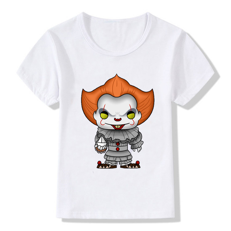 T-Shirt Pennywise Boys Summer Clothing Short-Sleeve Cotton-Top Girls Baby Children Casual
