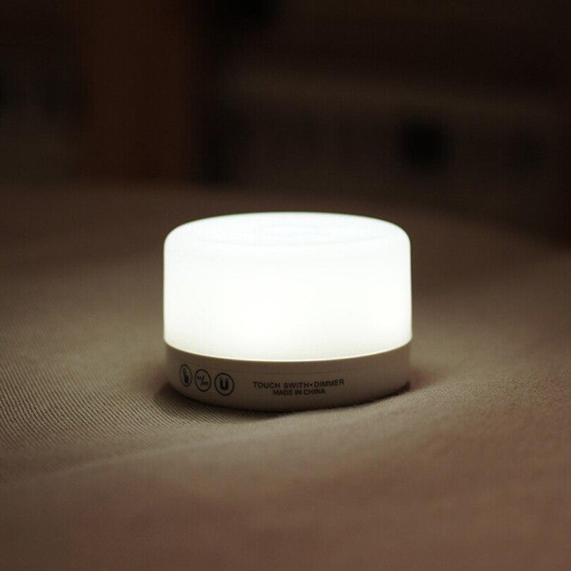 LEDGLE Controle de Toque Noite luminaria Lâmpada