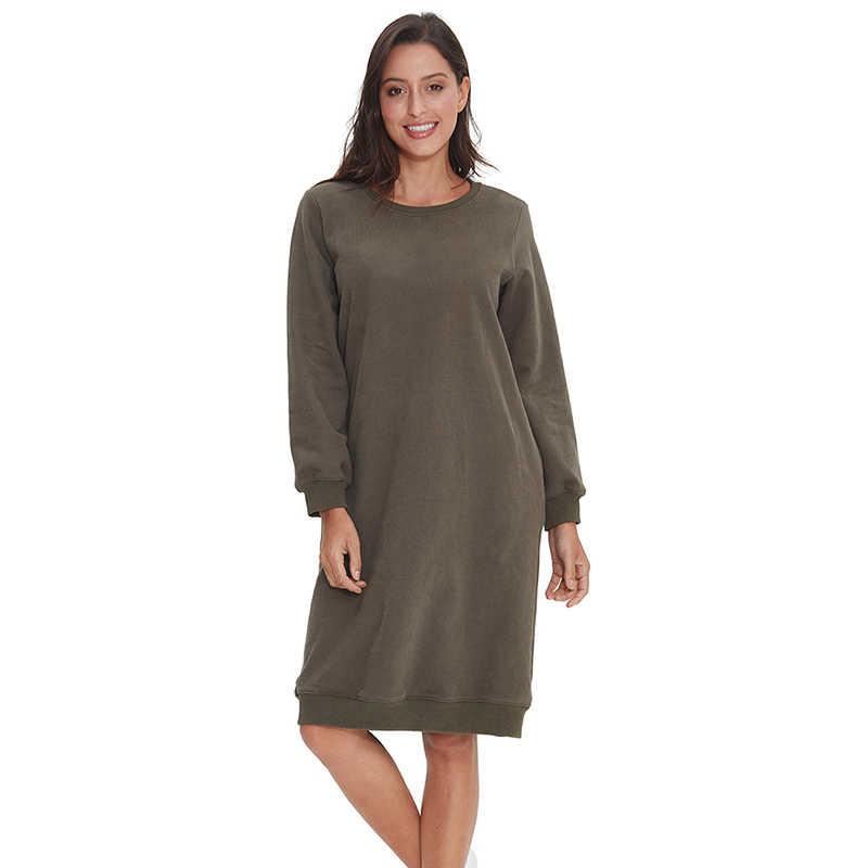 100% хлопок, модная Осенняя зимняя женская толстовка с круглым вырезом, длинный пуловер для девушек, женские вязаные блузки размера плюс M30112