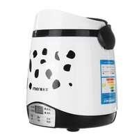 1.5L Rice Cooker Timing Mini Food Warmer Multifunctional Cook Rice Gruel&Soup Stain Steel Liner Home Travel Student 220V 250W