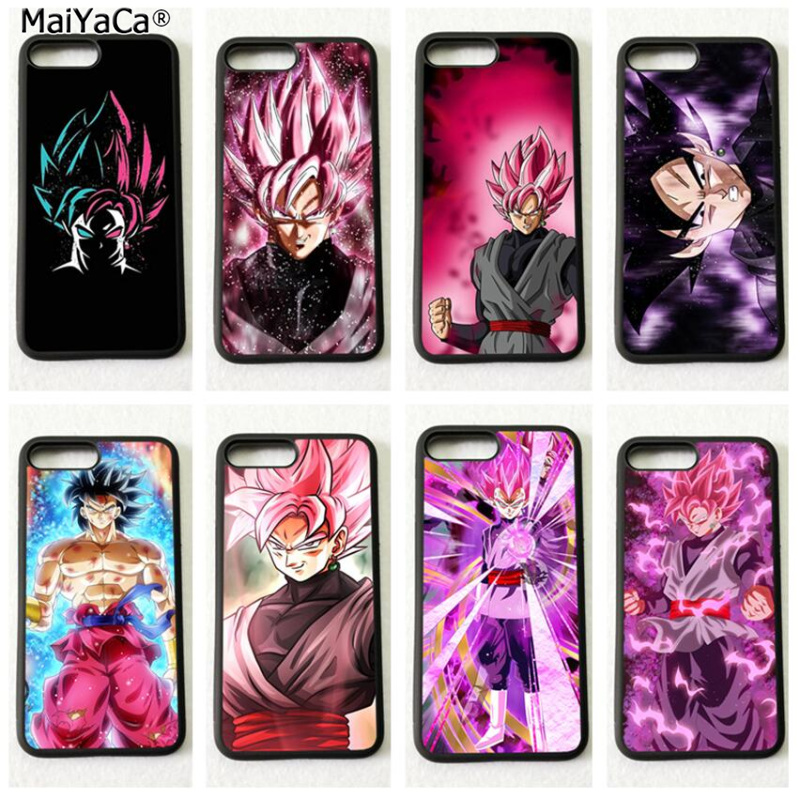 Desenhos animados dragon ball Z goku casos de telefone de silicone macio para iphone 5s se 6 6s plus 7 7 plus 8 8 plus X XR XS MAX tampa do caso