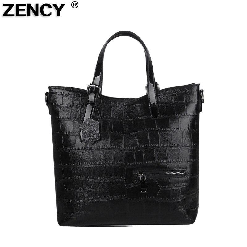 2019 New Fashion Wholesale Soft Genuine Leather Women's Designer Handbag Top Handle Tote Shoulder Messenger Bucket Bag Satchel
