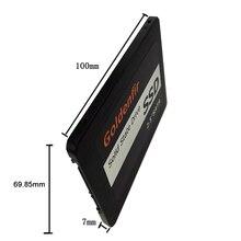 SSD 32GB 60GB 120GB 240GB 2.5 inch Goldenfir  internal solid stat driver 128GB SSD 2.5 for tablet desktop SSD 256gb